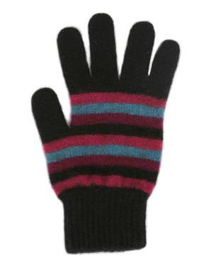 Merino Possum Stripe Glove
