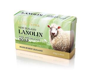 Wild Ferns Lanolin  Guest Soap