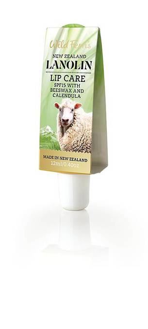 Wild Ferns Lanolin Lip Care SPF15