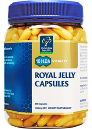 Manuka Health New Zealand Royal Jelly (365 capsules)