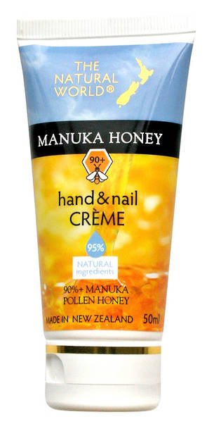 The Natural World Manuka Honey Hand & Nail Creme - 50ml