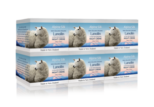 ASO102-6 Pack Ultra Replenishing Night Creme with Pure Lanolin & Vitamin E