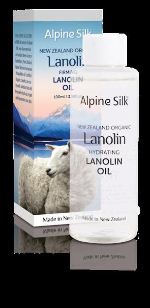 ASO103 Alpine Silk Firming Lanolin Oil 100ml