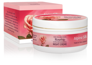 Alpine Silk Rosehip - Ultra Replenishing Night Creme