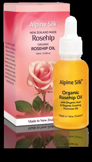 Alpine Silk Rosehip - Certified Organic Rosehip Oil