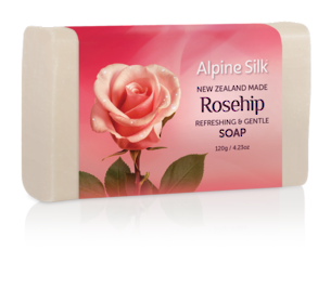 Alpine Silk Rosehip - Refreshing & Gentle Soap