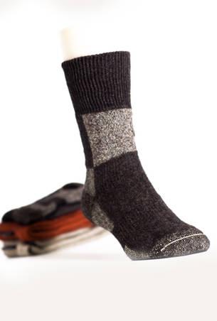 Merino Possum Koru Action Socks