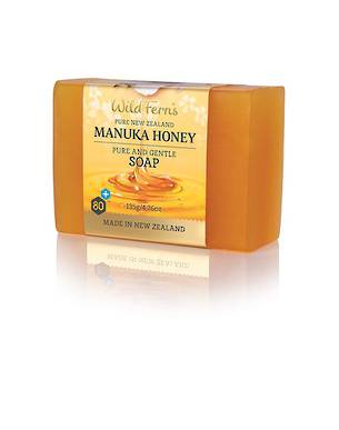 Wild Ferns Manuka Honey Pure and Gentle Soap 135gm