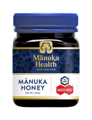 Manuka Health New Zealand Manuka Honey MGO 400+ 250gm