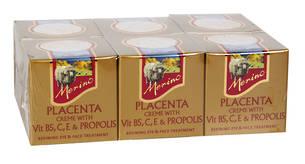 Merino Placenta Creme with Vitamin B5,C,E & Propolis 6 Pack