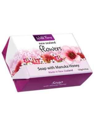 New Zealand Flowers Soap with Manuka Honey 125g