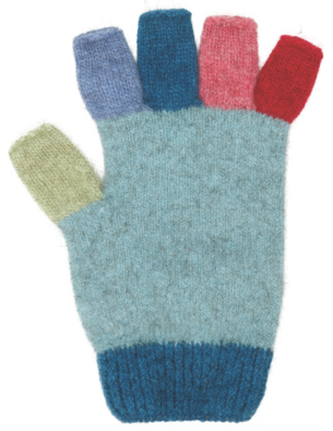 NX811 Multi Fingerless Glove