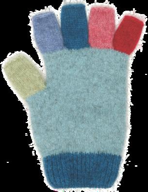 Merino Possum Multi Fingerless Glove