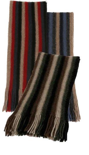 9939 Vertical Stripe Scarf