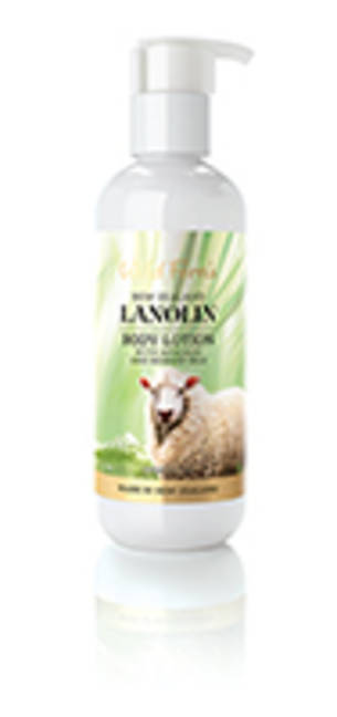 Wild Ferns Lanolin Body Lotion