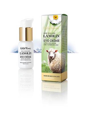 Wild Fern Lanolin Eye Creme