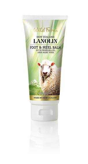 Wild Ferns Lanolin Heel and Foot Balm