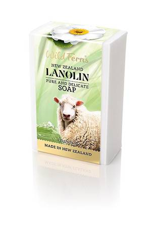 Wild Ferns Lanolin Soap-135g