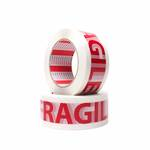 """FPA10  Printed """"Fragile"""" Acrylic Packaging Tape"""
