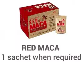 RedMaca1 as required
