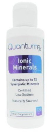 QuantumRX Ionic Minerals Concentrated Mineral Drops large