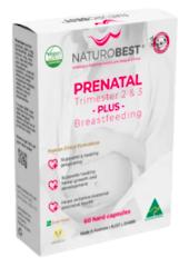 Naturobest Prenatal Trimester 2 & 3 Plus Breastfeeding