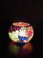 Rainbow Mosaic Soy Candle