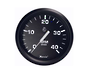Tachometer (4000 RPM) (Diesel) (Mag Pick-Up) Black Faria
