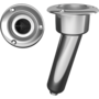 Rodholder/cupholder Round 15 degree Cast Stainless steel