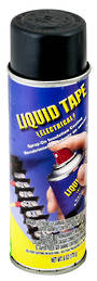 Liquid Tape. Black. Spray Aerosol Can