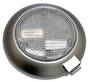 LED Dome light white/white with switch Grey
