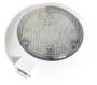 LED Dome light white/white with switch White