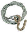 4.2m x 4mm Galv. Winch Wire