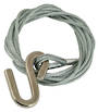 6m x 4mm Galv. Winch Wire