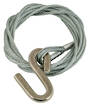 4.8m x 5mm Galv. Winch Wire