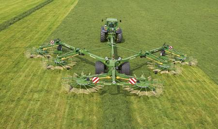 Krone Six Rotor Rake