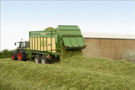 Krone Forage and Discharge Wagon MX