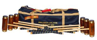 Precision Croquet Set-6 player in Bag