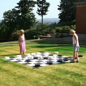 Giant Draughts - 25cm Plastic