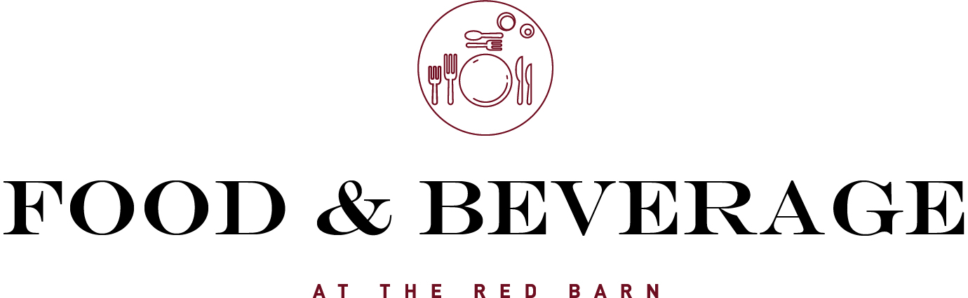 The Red Barn Brands-Red-Black-Engravers Font Food   Beverage Logo