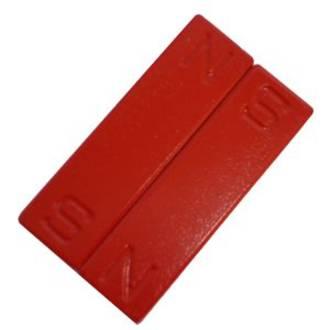 Magnetic  Bar N & S pair -  50mm long -  Ceramic