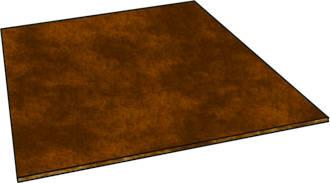 Hardboard Square