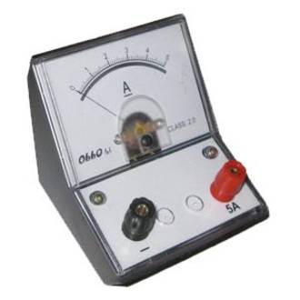 Meter Ammeter 0 to 5 A DC Single Range