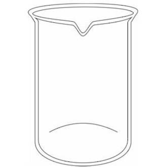 Beakers 250mL borosilicate