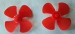 Propeller Blade  55mm Plastic with 2mm shaft fitting
