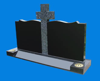 Book Shaped Plates with Central Cross