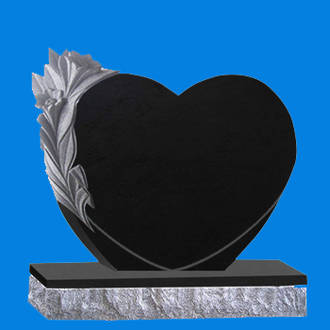 Heart with Deep Carving