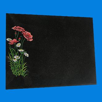 Black Granite Plaque