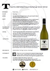 TPH Gruner Veltliner 2016 bottle