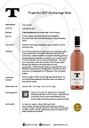 TPH Rose 2017 bottle